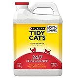 Purina Tidy Cats Clumping Cat Litter, 24/7 Performance Multi Cat Litter - (2) 20 lb. Jugs