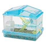 IRIS 2-Tier Hamster Cage, Trans Blue