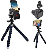 ChargerCity 360° XT-11 Periscope Tripod Smartphone Mount Kit for iPhone XR XS MAX X 8 7 Plus 6s Galaxy S9 S8 Edge Note LG V30 w/11 Flexible Tripod, HotShoe Adapter & Universal iPhone Holder