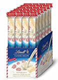 Lindt Classic Recipe Stick, Holiday White Chocolate Peppermint, Gluten-Free, 24 Count Box