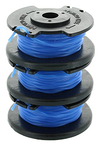 Ryobi One+ AC14RL3A OEM .065 Line and Spool Replacement for Ryobi 18v, 24v, and 40v Cordless Trimmers (3 Pack)