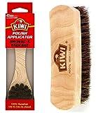 Kiwi Shoe Shine Brush Variety Pack, 1 Polish Applicator, 1 Shine Brush, 2 CT