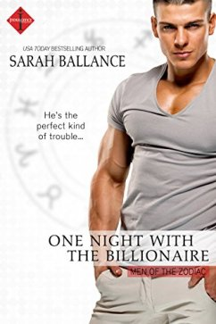 One Night with the Billionaire (Men of the Zodiac) by [Ballance, Sarah]