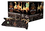Pine Mountain Java-Log Recycled Coffee Grounds Firelogs, 4 Hour Burn Time, 4 Logs (4152501471) Long Burning Firelog for Campfire, Fireplace, Fire Pit, Indoor & Outdoor Use