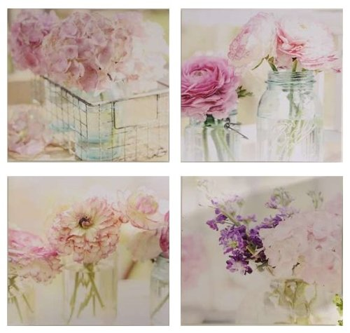 Shabby Cottage Chic Nest Prints Home Decor Wall Art ~ Discover the best unique cute whimsical pink wall art