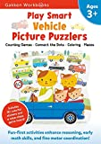Play Smart Vehicle Picture Puzzlers 3+ (Gakken Workbooks)