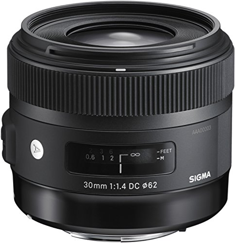 Sigma 30mm f/1.4 DC HSM Lens