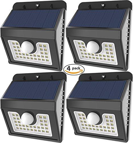 Vivii-30-led-Solar-lights-Super-Bright-LED-Security-Lighting-Outdoor-Motion-Sensor-Solar-Spotlight-flood-Lighting-for-Garden-Patio-Fencing-and-Pathway-4-PACK