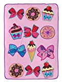 Nickelodeon JoJo Siwa Follow Your Dreams Plush Twin Blanket,