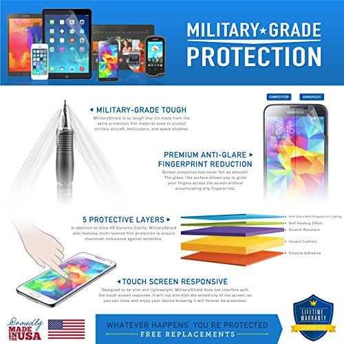 ArmorSuit Amazon Kindle Paperwhite (2018) Anti-Glare Screen Protector Max Coverage MilitaryShield Screen Protector for Amazon Kindle Paperwhite (2018) - Matte
