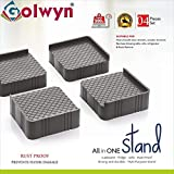 Golwyn Refrigerator,Sofa,Cupboard,Almirah All in One Rust Proof Stand,Fridge Stands
