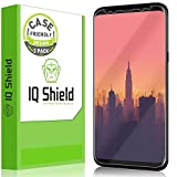 IQShield Screen Protector Compatible with Samsung Galaxy S8 Plus (2-Pack)(Case Friendly)(Not Glass) LiquidSkin Anti-Bubble Clear Film