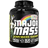 VMI Sports, Major Mass Lean Mass Gainer, Marshmallow Charms, 60 Scoops (4 lbs.), Protein Powder with Protein to Carbohydrates to Fats Ratio for Lean Muscle Mass & Weight Gaining, Pre- or Post-Workout
