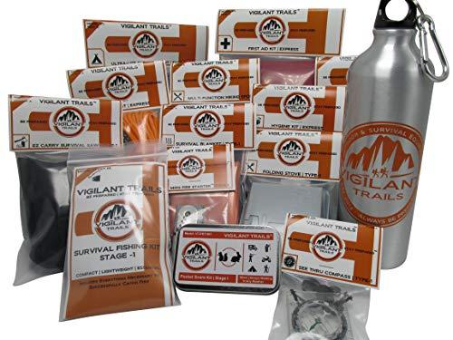 Vigilant Trails Bug Out Bag Builder Kit | Stage-1