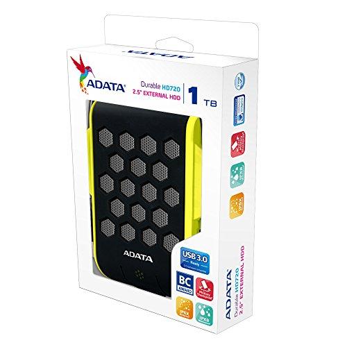 Adata HD720 1TB USB3.0 External Hard Drive - Green 6