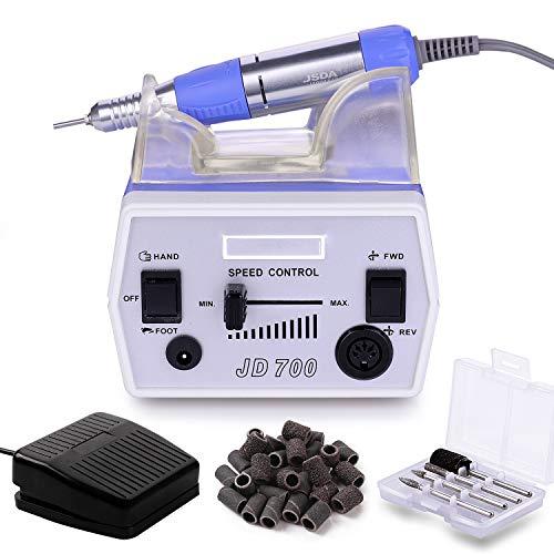 Makartt Nail Drill Machine JD700 Electric Nail Drill Professional 30000RPM Manicure Drill...