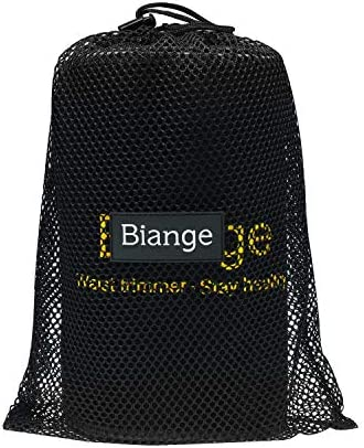 Biange Waist Trimmer for Women & Men Sweat Waist Trainer Slimming Belt, Stomach Wraps for Weight Loss, Neoprene Ab Belt Low Back and Lumbar Support 7