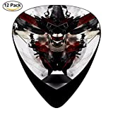 STREMUSIC Blue Stahli Vs Korn Celluloid Electric Guitar Picks 12-pack Plectrums For Bass Music Tool