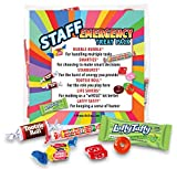Staff Emergency Treat Pack (sets of 6) - Employee Survival Kits - Goody Bags Appreciation Gifts