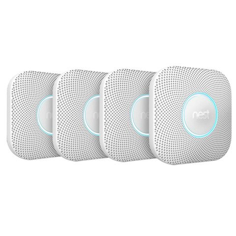 (4) PACK - Nest S3005PWBUS Protect Battery Smoke Detector