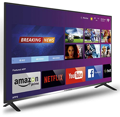 51mFE41LALL Fortex 140 cm (55 inches) 4K Ultra HD Smart LED TV FX55Spro01 (Black)