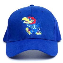 NCAA Kansas Jayhawks LED Light-Up Logo Adjustable Hat