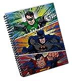 DC Comics Justice League Mini Spiral Notebook (Green Lantern, Batman, & Superman)