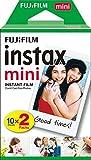 Fujifilm Instax Mini Twin Pack Instant Film [International Version],pack of 2 x 10 sheets (20 sheets)