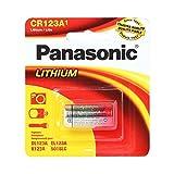 Panasonic CR123 CR123A 3V Lithium Battery (6 Pack)