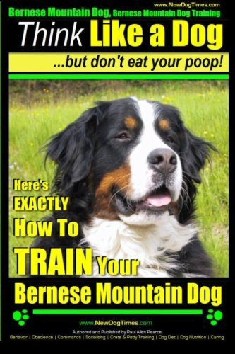 Bernese Mountain Dog, Bernese Mountain Dog Training AAA AKC | Think Like a Dog ~ But Don't Eat Your Poop!: Bernese Mountain Dog Breed Expert Training - Don't Your Poop! (Volume 1)