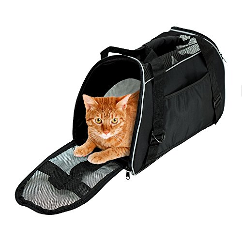 Bencmate Soft Sided Pet Carrier ,Airline Approved Pet Travel Bags for Cats and Dogs 1