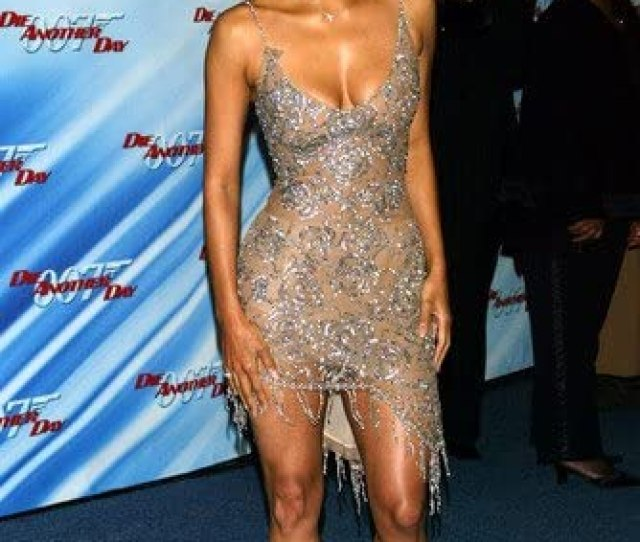 Halle Berry Stunning Sexy Huge Cleavage Leggy Pose X Poster At