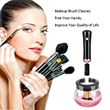 MelodySusie Electric Makeup Brush Cleaner and Dryer, Portable Electronic Automatic Brushes Cleaner, Cleans and Dries Makeup Brushes in Seconds