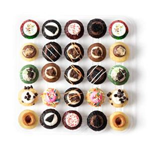 Baked by Melissa Cupcakes The Latest & Greatest – Assorted Bite-Size Cupcakes, 25 Count 51mY4GfhghL