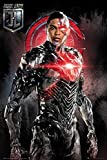 Justice League - Movie Poster/Print (Cyborg/Solo) (Size: 24 inches x 36 inches) (by