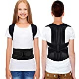 Back Posture Corrector, HailiCare Full Back Brace Shoulder Posture Correction for Upper Lower Back Support, Brace to Relieve Slouch, B Slouch, Back Pain, Thoracic Kyphosis - Size (Waist 24'-31')