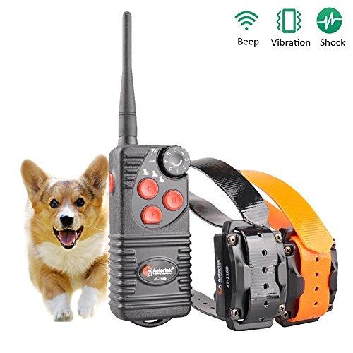 Aetertek Dog Training Shock Collar with remote Fully Waterproof 600 yards Range 1