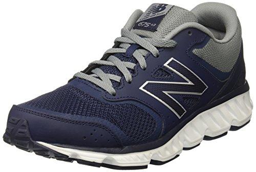 New Balance Men's M675v3 Cushioning Running Shoe, Navy, 11 D US