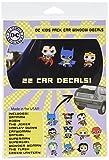 DC Comics ST DCFAM KIDSPACK Family Pack Kids Toyetics Car Window Sticker Decal