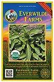 Everwilde Farms - 1000 organic Lemon Basil Herb Seeds - Gold Vault Packet