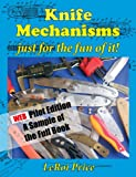 Knife Mechanisms just for the fun of it ePub pilot edition