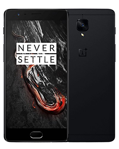 "OnePlus 3T (A3010) 6GB/128GB - Dual SIM [Android 7.0, 5.5"" AMOLED, 16.0MP, 3400mAh battery] (Midnight Black)"