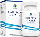 Hair, Skin, Nails Vitamins – 5000 mcg of Biotin to Make Your Hair Grow & Skin Glow with 25 Other Vitamins - Nail Growth and Skin Care Formula for Men & Women