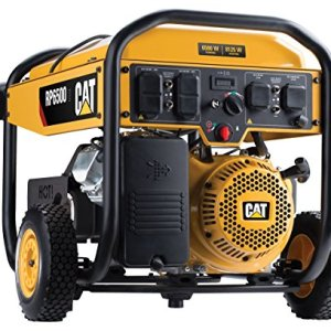 Cat Running Watts and 8125 Starting Watts with Electric Start Gas Powered Portable Generator