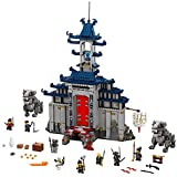 LEGO Ninjago Movie Temple Ultimate Ultimate Weapon 70617 Building Kit (1403 Piece)