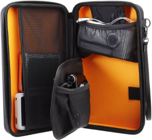 Image result for Amazon Basics Universal Travel Case for Small Electronics and Accessories (Black)