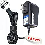 T-Power 6.6ft AC Adapter Compatible with PANASONIC Portable Mobile DVD PLAYER CGR-H703 DVD-LS80 LS82 DVD-LS85 LS86 LS90 LS-91 LS93 DVD-LS91 DVD-LS92 PQLV210 KXTG210S KX-TS4100 TS4100B RFEA213W LS855