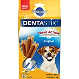 PEDIGREE DENTASTIX Small/Medium Dental Dog Treats Original, 1.57 lb. Value Pack (45 Treats)