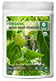 Naturevibe Botanicals USDA Organic Noni Fruit Powder (16 ounces) - Morinda Citrifolia - 100% Pure & Natural   Gluten-Free & Non-GMO