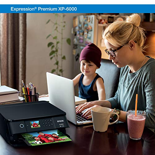 Epson Expression Premium XP-6000 Wireless Color Photo Printer Scanner